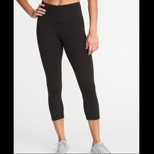 Old Navy high waisted cropped leggings